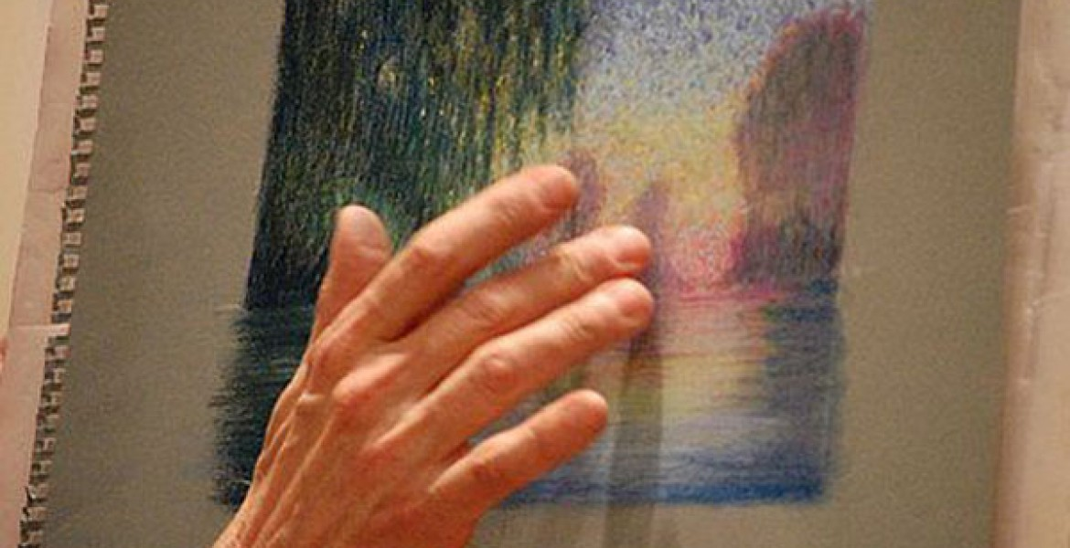 Greg teaches how to use pastels to create beautiful artwork