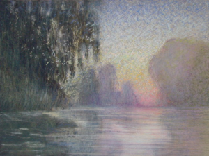 Morning Mist on the Seine After Monet