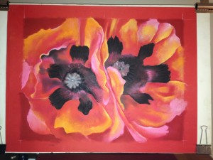 Oriental Poppies After Georgia O'Keeffe